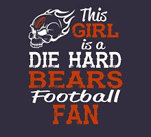 This Girl Is A Die Hard Bears Football Fan T-Shirt