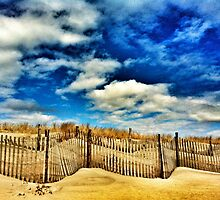 beach, dune and sky by Bekki Rich