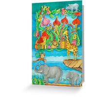 Children's Zoo Greeting Card