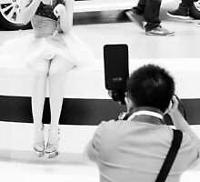 Take my Picture - Model being Photographed by vanyahaheights