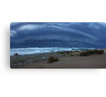 Good Friday Gust Front Panorama Canvas Print