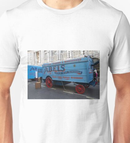 Horse drawn Abels removal lorry in Regent Street London Unisex T-Shirt