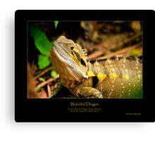Watchful Dragon Canvas Print