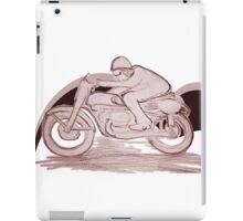 Cafe Racer w color iPad Case/Skin