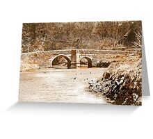 Lerryn Bridge Greeting Card
