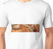 Freshly baked loaves of bread at a bakery. Unisex T-Shirt