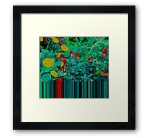 Abstract Blooms Framed Print