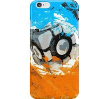 The Blue & Orange Gels iPhone Case/Skin