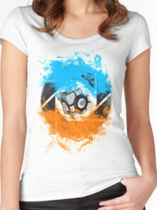 The Blue & Orange Gels Women's Fitted Scoop T-Shirt