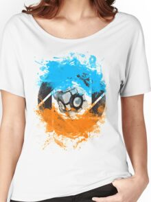The Blue & Orange Gels Women's Relaxed Fit T-Shirt