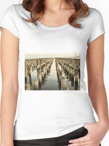 Princess Pier Women's Fitted Scoop T-Shirt