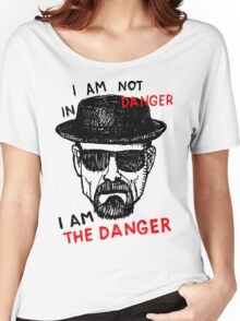 Heisenberg I am the danger Women's Relaxed Fit T-Shirt