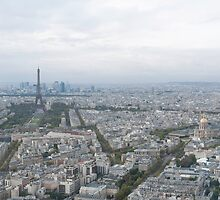 View of Paris from the Tour Montparnasse by Mark Prior