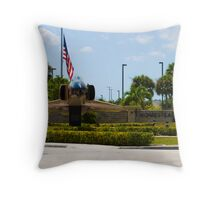 Wide Head On OY AF 60 0267 F-4D Phantom Throw Pillow
