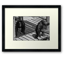 Anger and Love , Anything is Everything Framed Print