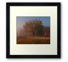 Cades Cove Loop Road in the Fall Framed Print