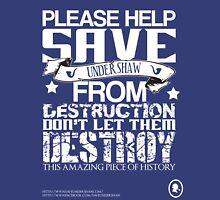 Save Undershaw Now Three Womens T-Shirt