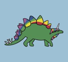 Stegocorn (Unicorn Stegosaurus) by jezkemp