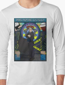 Sherlock Nouveau: Gregory Lestrade Long Sleeve T-Shirt