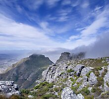 Looking over Capetown by Derek Kan