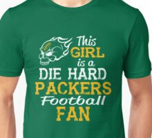 This Girl Is A Die Hard Packers Football Fan Unisex T-Shirt