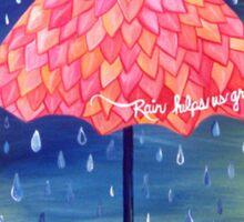 Rain helps us grow Sticker