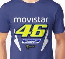 Valentino Rossi Yamaha Bike Face Unisex T-Shirt