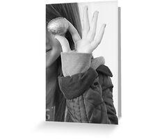 Egg eye Greeting Card