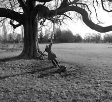 Old tree swing by DustyDesigns
