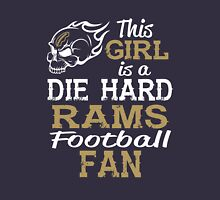 This Girl Is A Die Hard Rams Football Fan Unisex T-Shirt