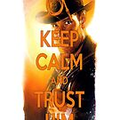 Indiana Jones Keep Calm by NuclearJawa