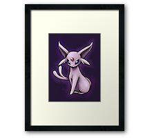 Pokemon Espeon Framed Print
