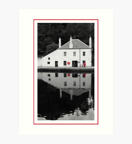 Crinan Harbour Masters Office Art Print