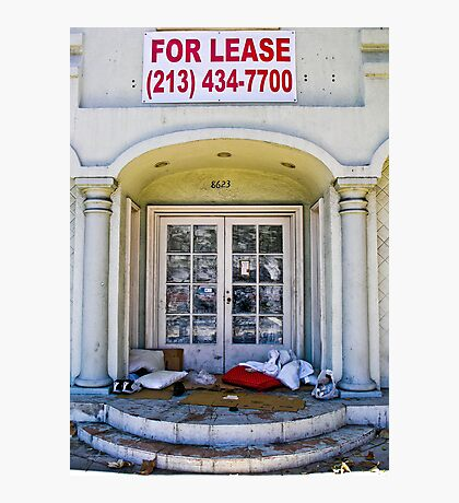 For Lease.... Photographic Print