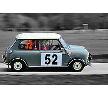 Grey Morris Mini Cooper Photographic Print