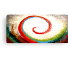 Wave of Color Oil Painting Canvas Print