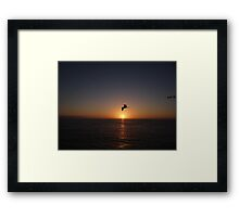 Another Nice Sunset In The Paradise - Otra Puesta Del Sol Bonita En El Paraiso Framed Print
