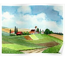 WESTFALEN GERMANY - AQUAREL Poster
