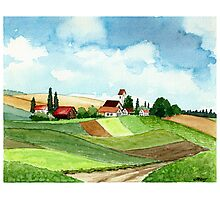 WESTFALEN GERMANY - AQUAREL Photographic Print