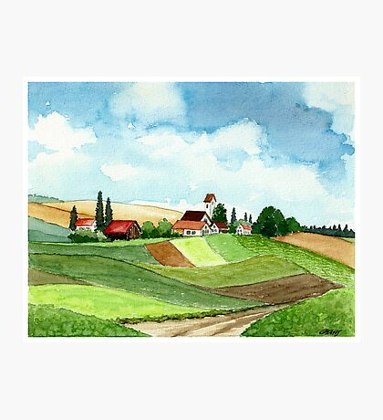 WESTFALEN GERMANY - AQUAREL Photographic Print
