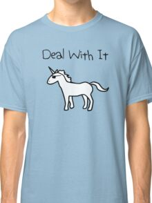 Deal With It (Unicorn) Classic T-Shirt