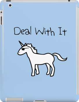 Deal With It (Unicorn) by jezkemp