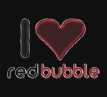 I ♥ RedBubble - [Stitches] by Vidka Art