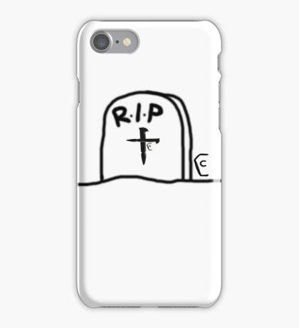 Coffin Squad- headStone iPhone Case/Skin
