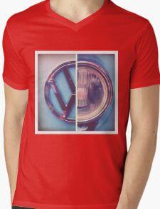 VW Camper Van T's Mens V-Neck T-Shirt