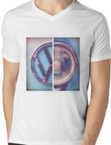 VW Camper Van T's Mens V-Neck T-Shirt