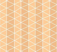 Grid Orange by BlueLela