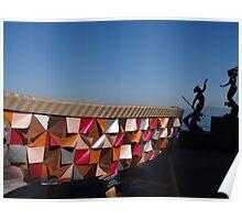 Boat As Art - Lancha Como Arte Poster