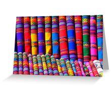 Rainbow Pattern Dye Greeting Card