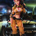 Ghostbusters Janine Melnitz by svee